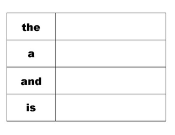 Build Trick Words!