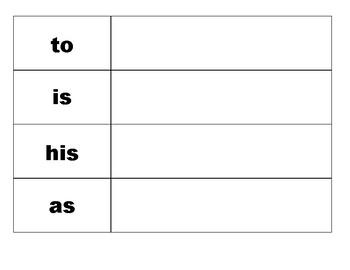 Build Trick Words! Level K
