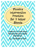Build Up Phonics Extra Practice for 3 Letter Blends