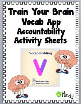 Build Vocabulary App Accountability Sheets