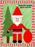 Build With Shapes - Santa With Christmas Tree