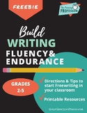 Writing Resources FREEBIE for Grades 2-5: Lessons for Free