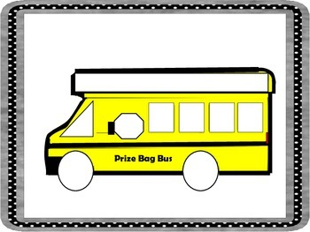 Build Your Bus;  Reinforce Good Behaviors and Teach Basic Shapes