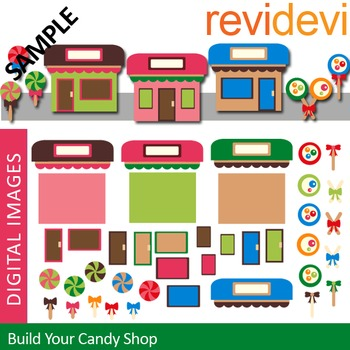 Build Your Candy Shop Clip art