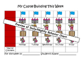 """Build Your Castle"" K-3  Classroom Behavior Chart and Behavior Management System"