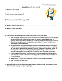 Build Your Cover Letter Activity