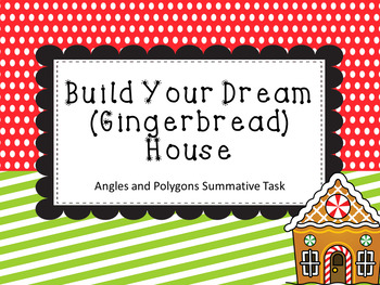 Build Your Dream (Gingerbread) House