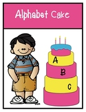 Build Your Own Alphabet Cake