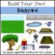 Build Your Own Backyard Clip Art