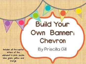 Build Your Own Banner: Chevron
