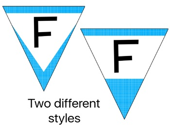 Build Your Own Banner - Classroom Pennants