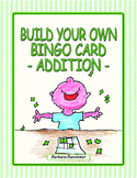 Build Your Own Bingo Card - Addition