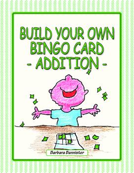 Build Your Own Bingo Card - Addition