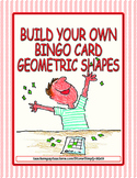 Build Your Own Bingo Card - Geometric Shapes