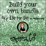 Build Your Own Bundle! Emerald Level- Pay $30 for $40 of r