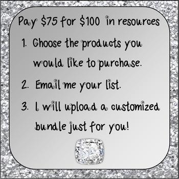Build Your Own Bundle ~ Diamond Level, Special Order for Sra Cervantes