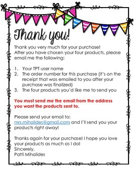 Build Your Own Bundle!  Four products for $10.00!