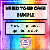 Build Your Own Bundle for History and Social Studies