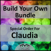 Build Your Own Bundle for Spanish Teachers Special Order for Claudia