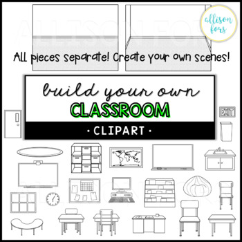 Build Your Own Classroom Clip Art