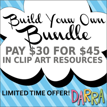 Build Your Own Clip Art Bundle - Choose Your Favorite Resources from DARRA store