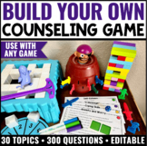 Build Your Own Counseling Game with Jenga® #octoberfestsale