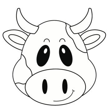 Build Your Own FARM ANIMAL Clip Art COW