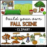 Build Your Own Fall Scene Clip Art