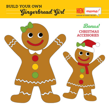 Build Your Own Gingerbread Man and Gingerbread Girl Bundle!