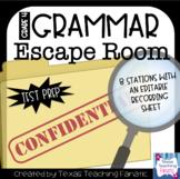 Grammar Escape Room