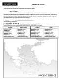Build Your Own Greek Polis - Student Activity