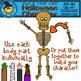 Build Your Own Halloween Character Clip Art