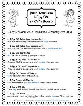 Build Your Own I-Spy CVC or CVCe Custom Bundle