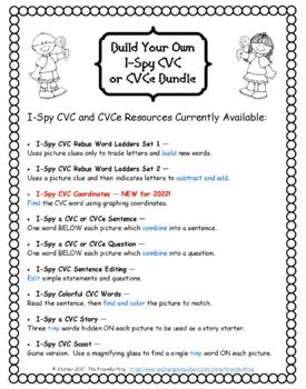 Build Your Own I-Spy CVC or CVCe Custom Bundle