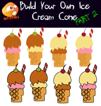 Build Your Own Ice Cream Cone - Part 2 Clip Art
