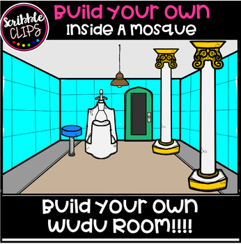 Build Your Own- Inside A Mosque (scribble clips)