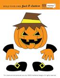 Build Your Own Jack-O-Lantern Clip Art