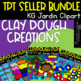 (Back To School Discount)  DIY Modeling Clay Dough Images (scribble clips)