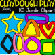 DIY Modeling Clay Dough Images (scribble clips)