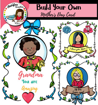 Build Your Own Mother's Day Card- 111 images!!!