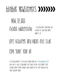 Build Your Own Newsletter!