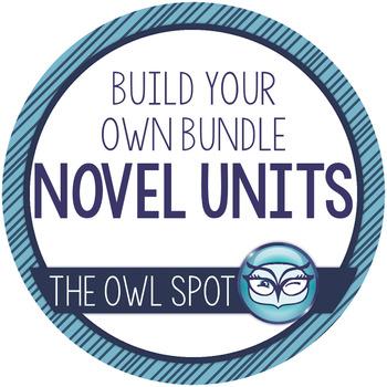 Build Your Own Novel Unit Bundle