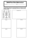 Build Your Own Nutcracker Activity (Editable for Any Subject/Content)