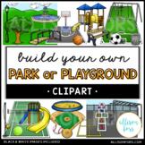 Park or Playground Clip Art