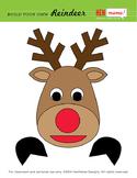 Build Your Own Reindeer Clip Art