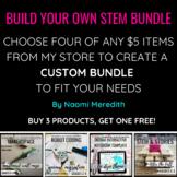 Build Your Own STEM Bundle   $5 Products