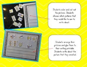 Build Your Own Story! Writing Activity Printables