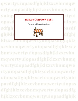 Build Your Own Test