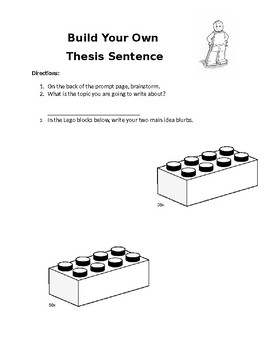 Build  Your Own Thesis Statement