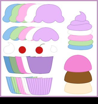 Build Your Own Treat - Cupcake clipart